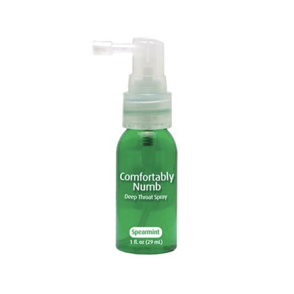 Comfortably Numb Deep Throat Spray gay sex toy