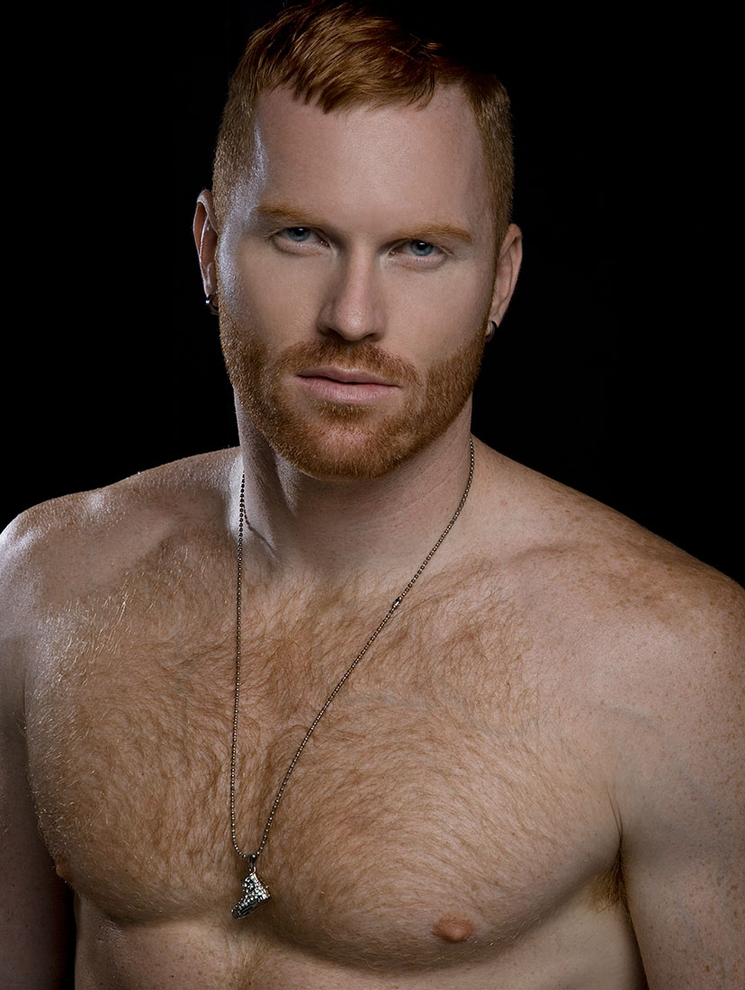 Seth Fornea Ginger model