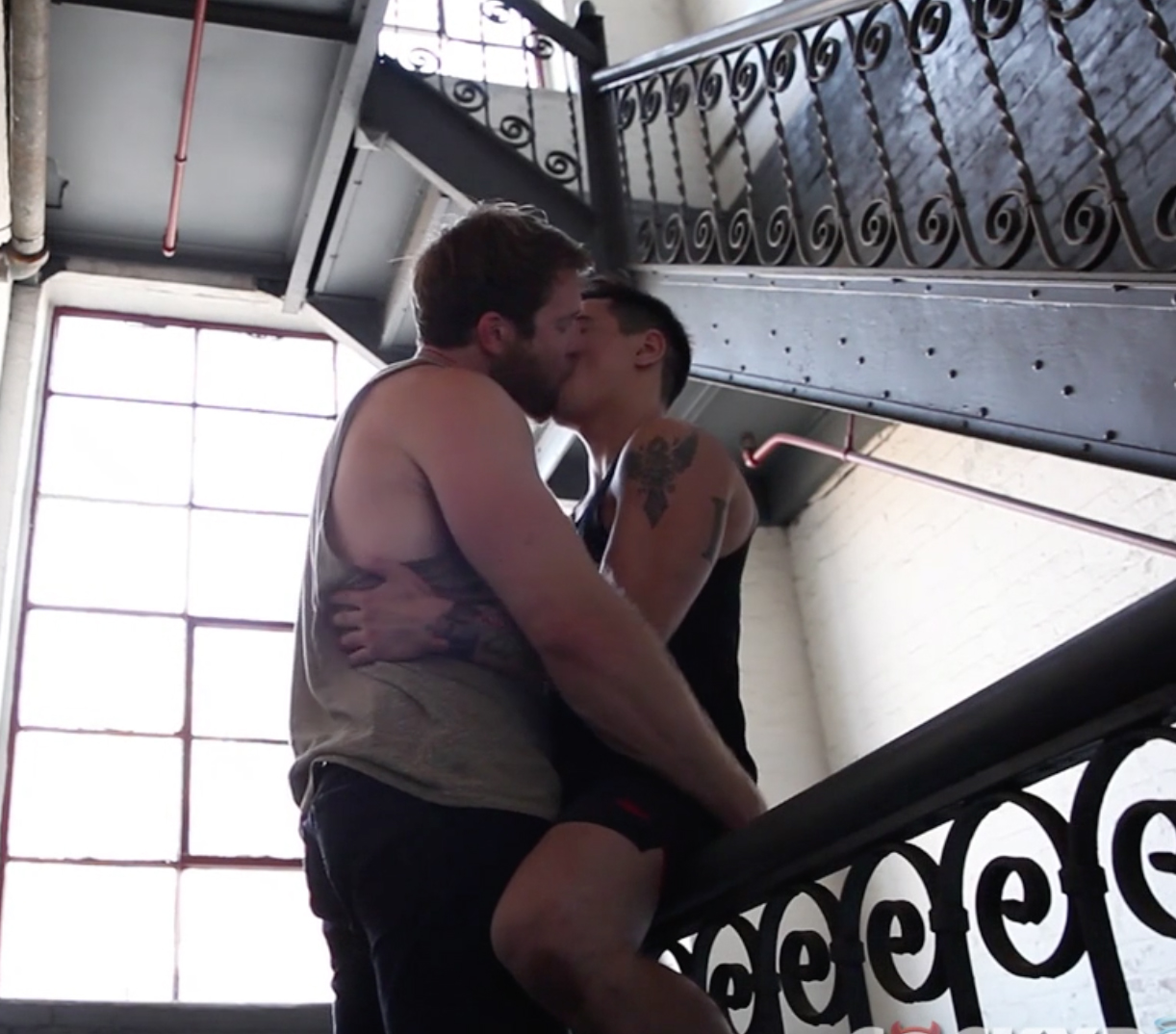 Colby Keller and Levi Karter